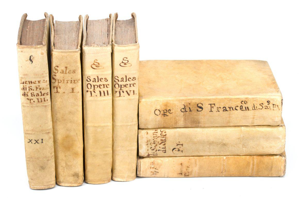 Vellum Books by Saint Francis de Sales