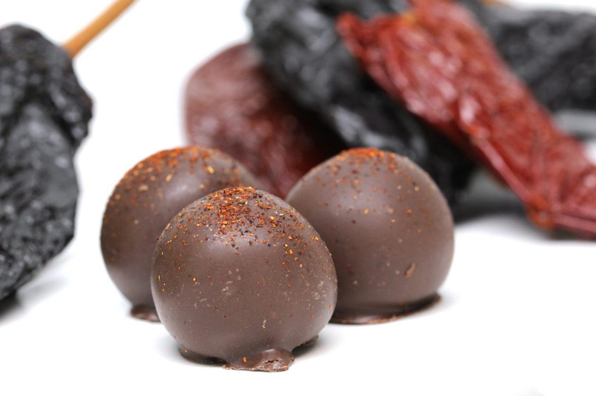Mayan Chocolate Truffle