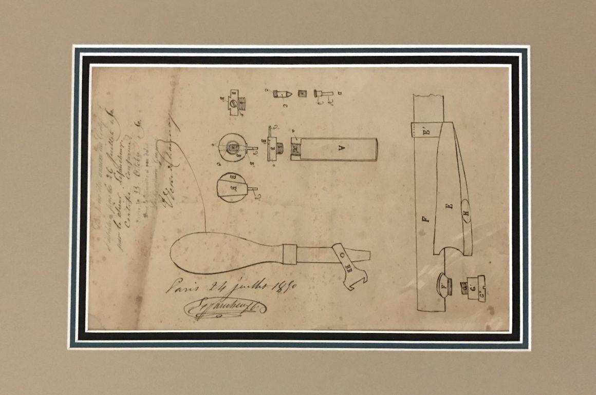 Casimir Lefaucheux Patent 8955